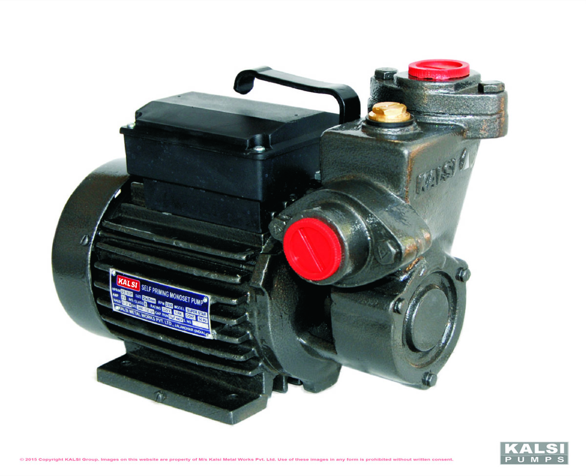 KALSI SUPER STAR Self Priming Monoblock Pumps